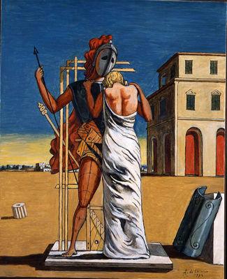 Giorgio de Chirico, Cri d'amour, 1934.jpg