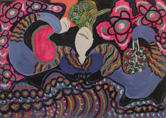 Visite thématique_Femmes dans l'art et art de femmes_BAYA_La femme au panier.jpg
