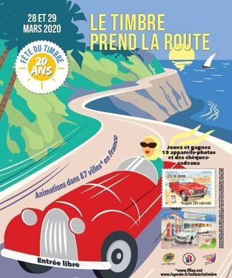 Fête du timbre le timbre prend la route Calais La Halle 28 29 mars 2020.jpg