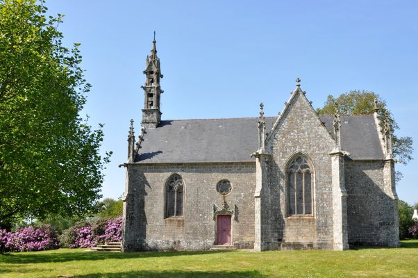 Chapelle St-Yves - Priziac - Pays roi Morvan - Morbihan Bretagne sud - CP OTPRM (7).JPG