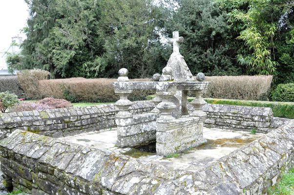 fontaine lavoir - Longueville - Locmalo - Pays roi Morvan - Morbihan Bretagne Sud - ©OTPRM (7).JPG