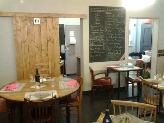 Cantine de Joséphine - Valenciennes -  Restaurant - Intérieur (1) - 2018.jpg