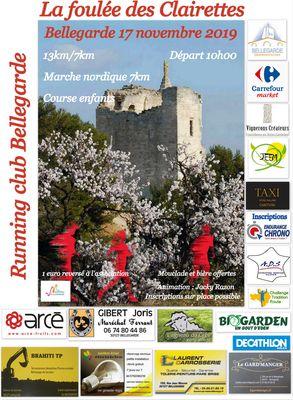 Affiche Foulée Bellegardaise le 17 novembre 2019.jpg