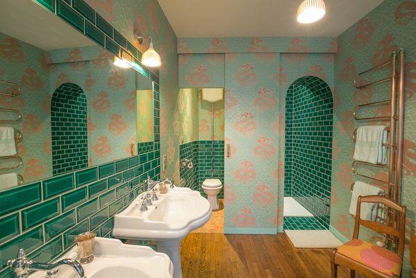La salle de bain de la chambre Kalinka