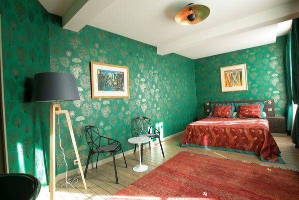 La chambre de la suite Phély