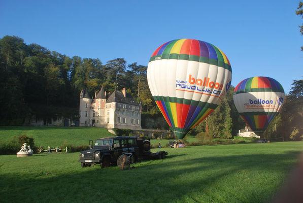 Décollage de montgolfières avec BalloonRevolution - EvenementCiel