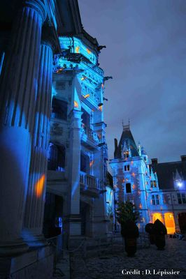 Son et lumière au château royal de Blois
