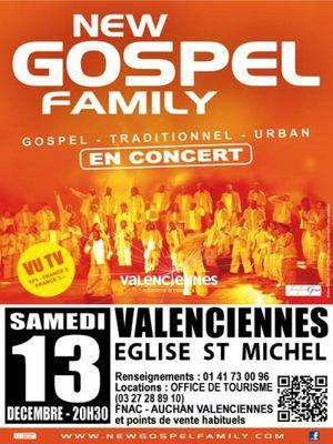New Gospel Family Valenciennes Tourisme