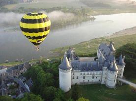 Vol au dessus de Chaumont-sur-Loire avec Aérocom montgolfière