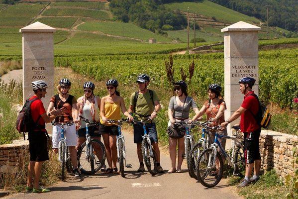 départ de la Voie des Vignes©J Piffaut