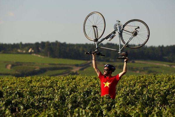 A la conquête du vignoble©J Piffaut