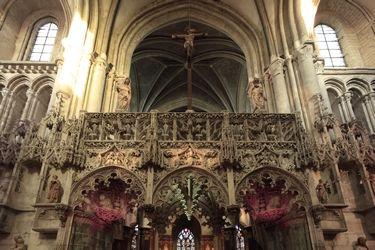 Jubé - Eglise Sainte Madeleine - (c) D le Névé .jpg
