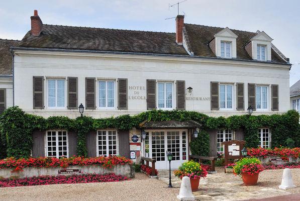 Hôtel Auberge de l'Ecole à Pontlevoy