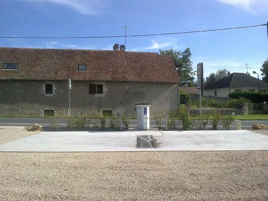 Aire de stationnement de Huisseau-sur-Cosson