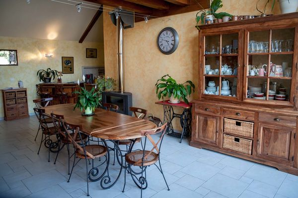 Chambre d'hôte La Martinière à Mont-près-Chambord