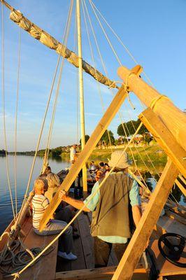Navigation en futrau sur la Loire