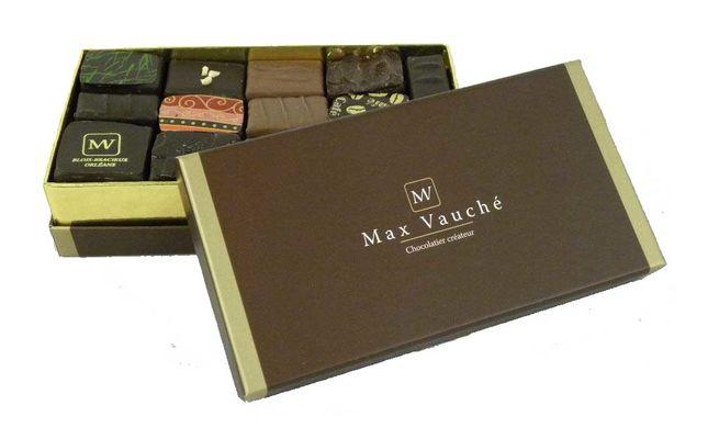 ballotin de chocolat Chocolat Max Vauché