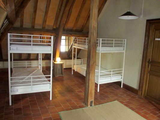 Gîte du Château de Vaux - Chambre