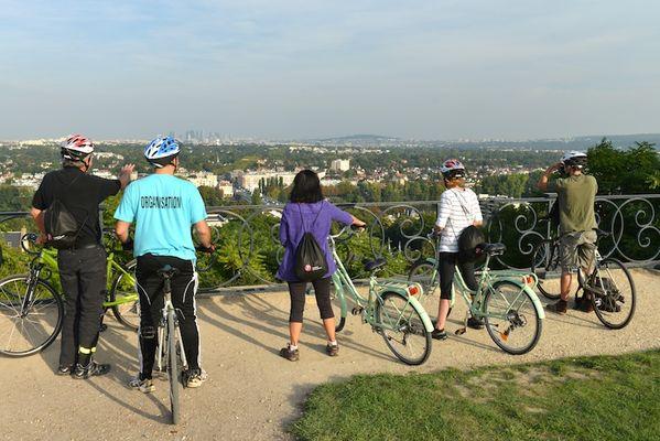 Itin raire cycliste en for t de saint germain en laye saint germain en laye saint germain en for Yvelines tourisme