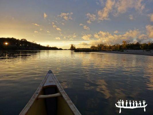 Loire Aventure locatin de canoë à Amboise