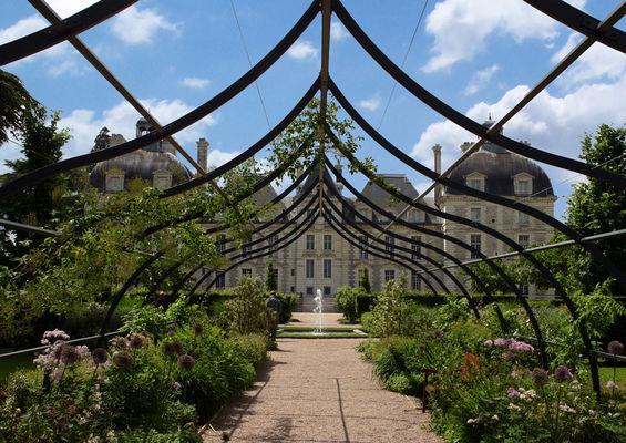 Le Château de Cheverny et son jardin en Val de Loire