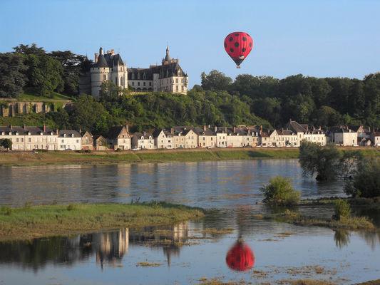 Vol avec Aérocom montgolfière à Chaumont-sur-Loire