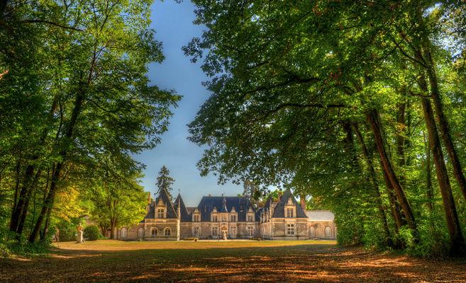 Parc Château de Villesavin à Tour en Sologne dans le Val de Loire