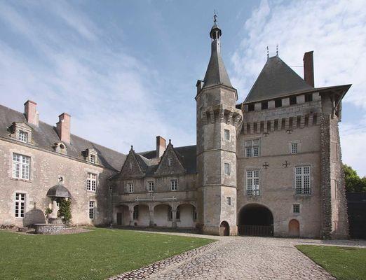 Le Château de Talcy dans le Loir et Cher