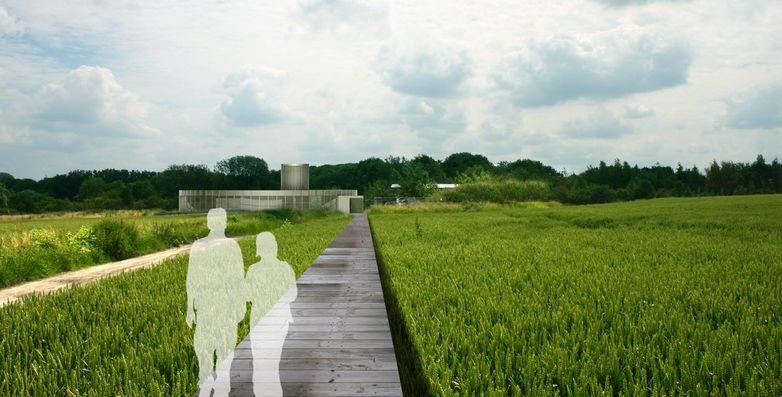 -®Holoffe Vermeersch, Entr+®e du SilexÔÇÖs, vue 3D, 2012.jpg