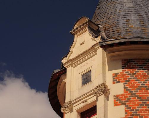Tour du château de Troussay en Val de Loire
