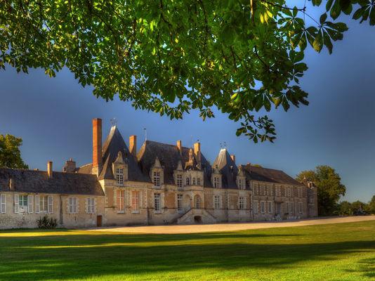 Château de Villesavin à Tour en Sologne dans le Val de Loire