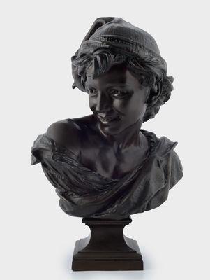 Sculpture L'homme +á la coquille de Carpeaux - Collections Ville de Mons - Conserv+® +á l'Artoth+¿que -®Atelier de l'Imagier .jpg