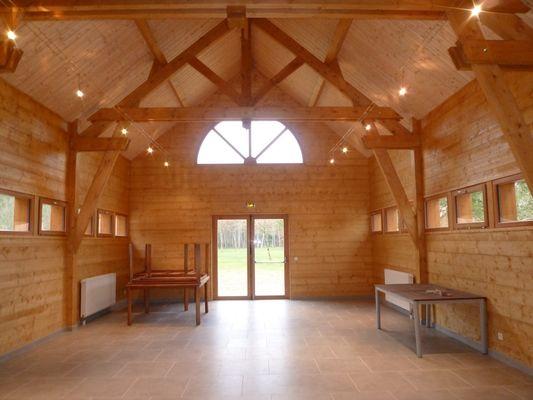 grande salle reunion au Village de gîtes Le Moulin de Crouy en Val de Loire