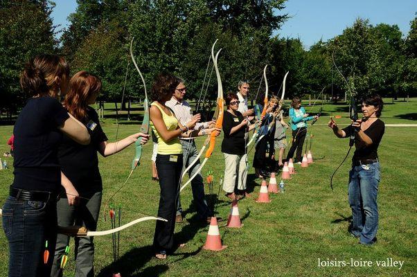 Tir à l'arc avec Loisirs Loire Valley dans le Loir et Cher