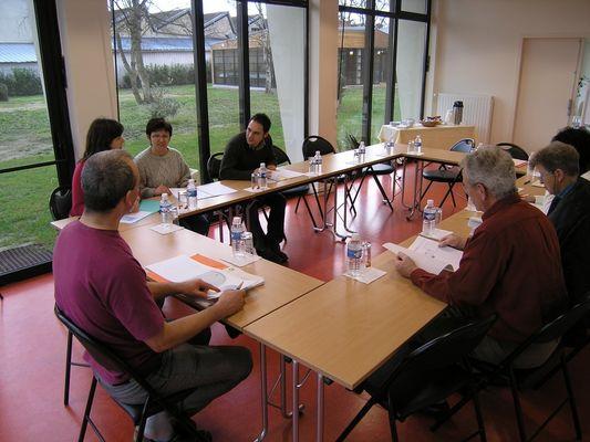 Salle de reunion à l'Éthic Étapes Jean Monnet à Romorantin