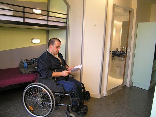 Accueil handicap à l'Éthic Étapes Jean Monnet à Romorantin