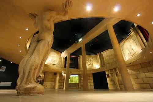 La Salle Rotonde à la Maison de la Magie de Blois