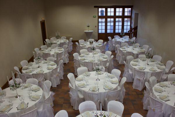 Gîte du Château de Vaux - Salle de reception