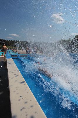 Tobogan du Centre Aquatique Agl'eau à Blois