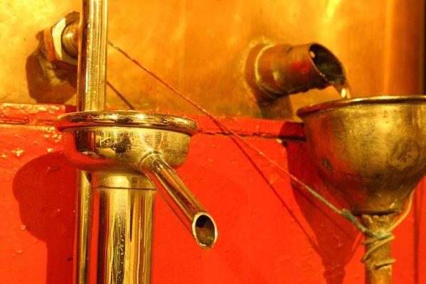 Distillation de l'armagnac