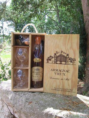 Coffret cadeau armagnac