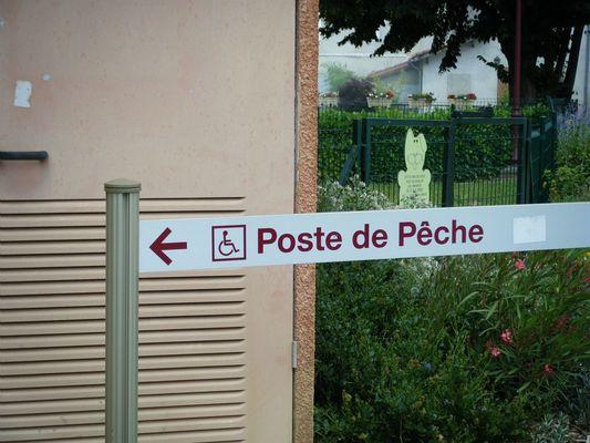 PONTON DE PECHE