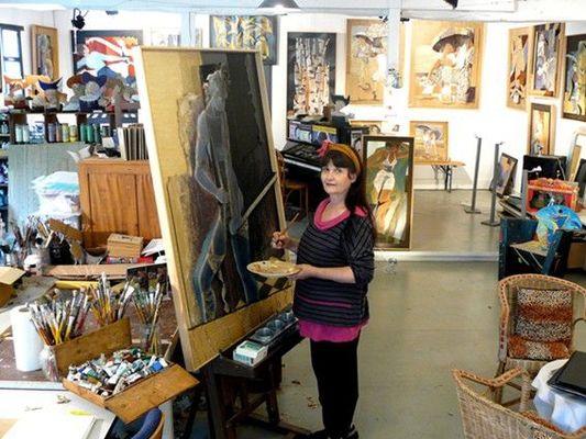 ATELIER D'ARTISTES PEINTRES