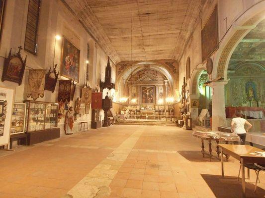 Conférence à l'église Musée du Pradau