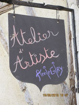 Atelier d'artiste Annie Giry