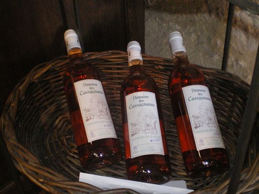 Vin rosé des Côtes de Gascogne