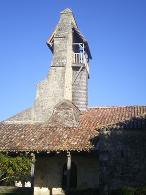 Porche et clocher-mur