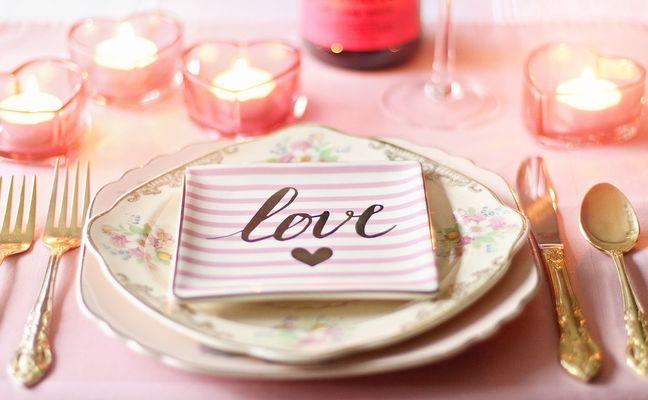 Menu Saint Valentin à la Table des Cordeliers