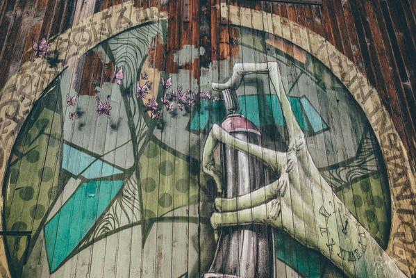 PHOTO STREET ART LOMBEZ