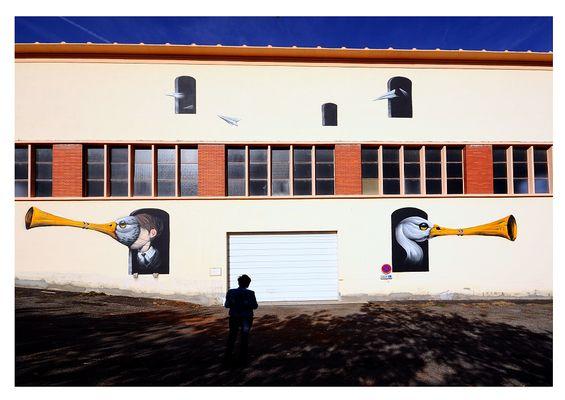 Photo Street Art Gimont
